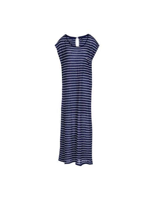 Woolrich | Женское Синее Длинное Платье