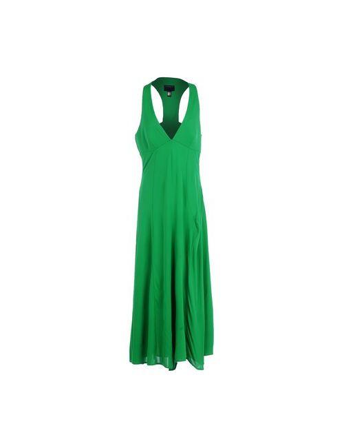 Class Roberto Cavalli   Женское Зелёное Длинное Платье