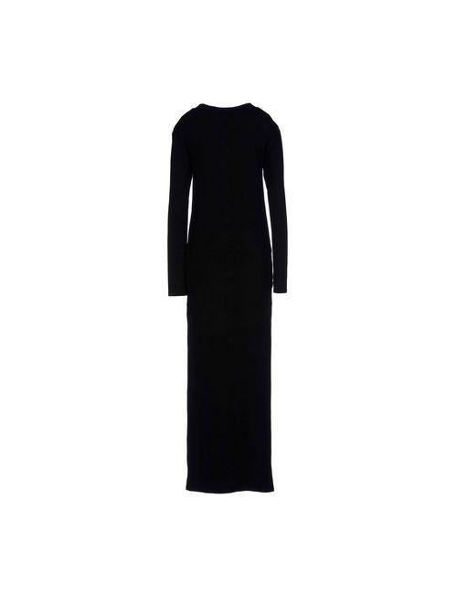 PIER | Женское Чёрное Длинное Платье
