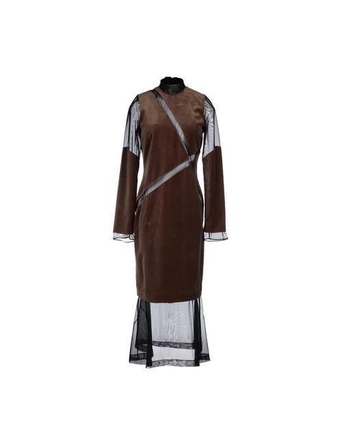 Damir Doma | Женское Серое Длинное Платье