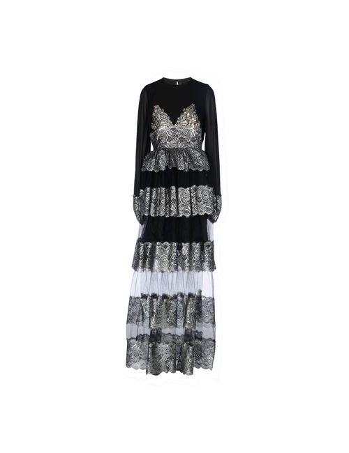 DE TOMASO | Женское Чёрное Длинное Платье