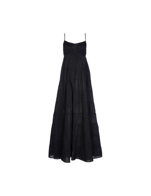 Twin-Set Jeans | Женское Чёрное Длинное Платье