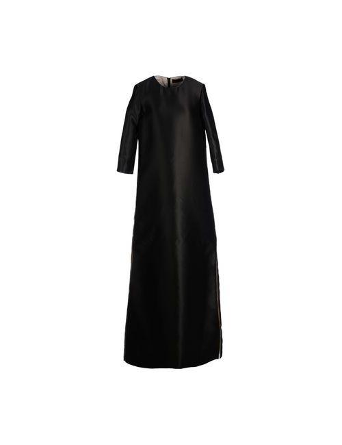 Jo No Fui | Женское Черный Длинное Платье