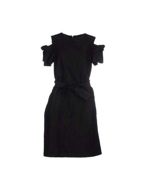 Ymc You Must Create | Женское Чёрное Платье До Колена