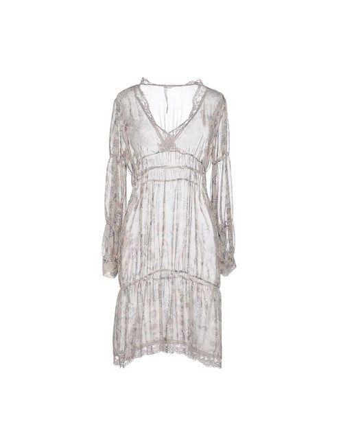 Acciaio | Женское Серое Короткое Платье