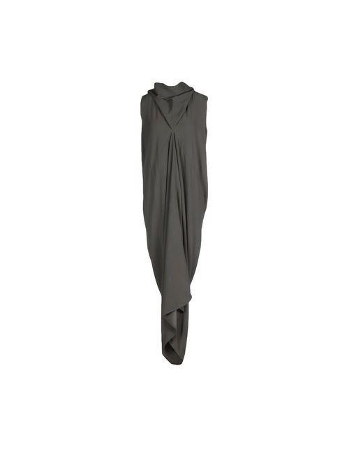 Rick Owens | Женское Серое Длинное Платье