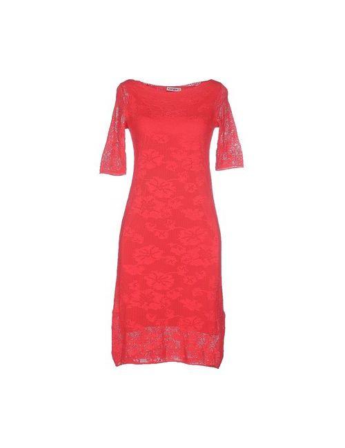 Kangra Cashmere | Женское Красное Платье До Колена