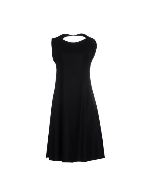 Yohji Yamamoto   Женское Чёрное Платье До Колена