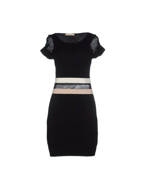 Mixmix | Женское Чёрное Короткое Платье