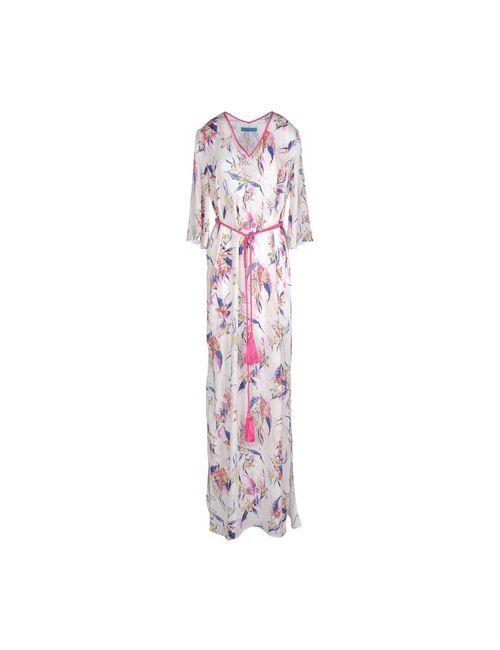 Matthew Williamson   Женское Розовое Длинное Платье
