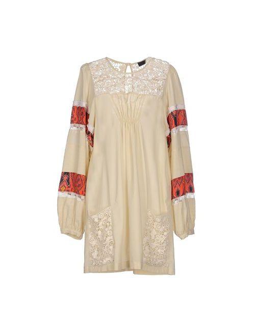 Jo No Fui | Женское Слоновая Костящее Короткое Платье