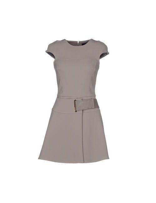 ELISABETTA FRANCHI | Женское Серое Короткое Платье