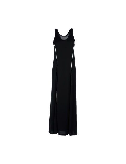 Issey Miyake | Женское Чёрное Длинное Платье