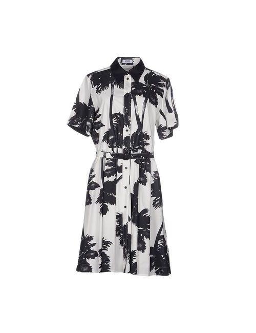 Moschino Cheap and Chic | Женское Белое Платье До Колена