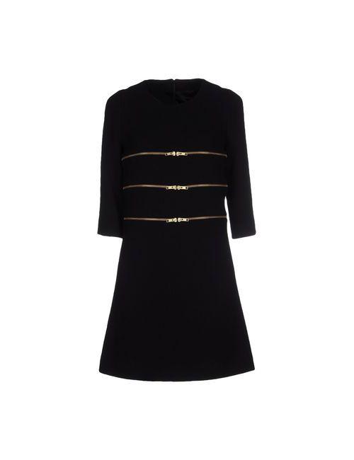 Edward Achour | Женское Чёрное Короткое Платье