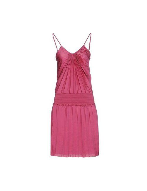 Patrizia Pepe | Женское Фиолетовое Платье До Колена