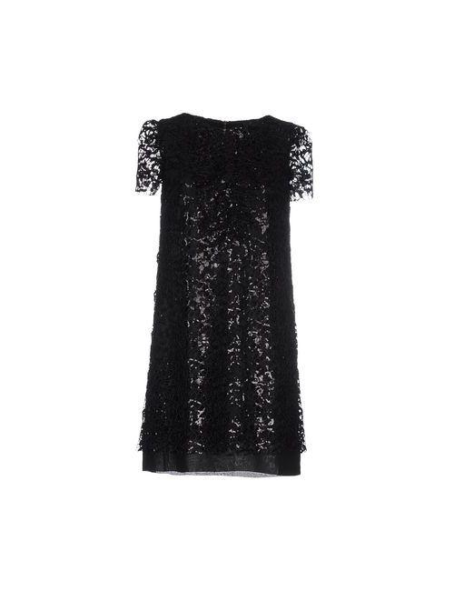 Marco Bologna | Женское Чёрное Короткое Платье