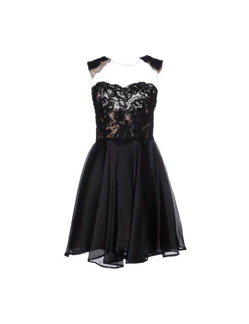 Alex Vidal | Женское Чёрное Короткое Платье