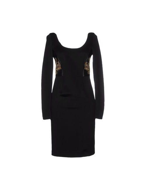 Versace | Женское Черный Короткое Платье