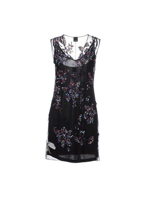 Pinko Black   Женское Чёрное Короткое Платье