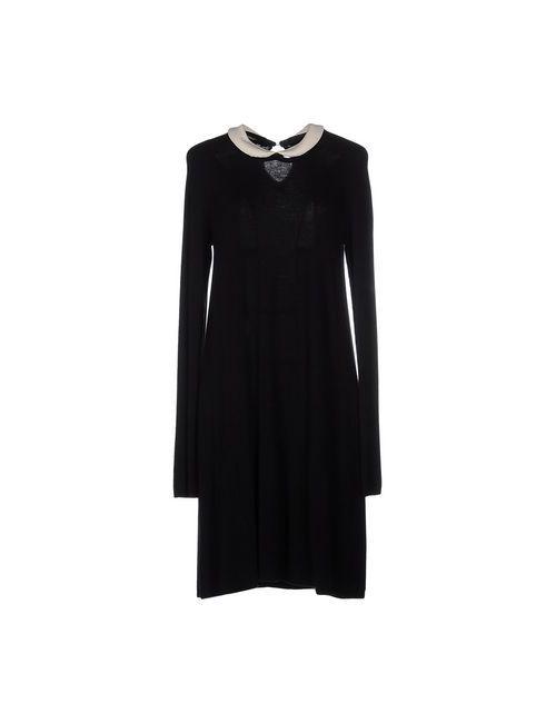 Scee By Twin-Set | Женское Чёрное Короткое Платье