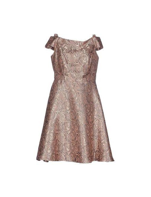No Secrets | Женское Розовое Платье До Колена