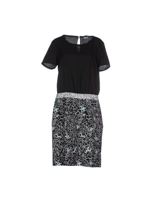 Max & Co. | Женское Чёрное Платье До Колена