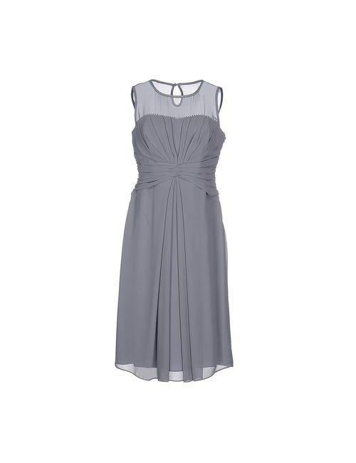 Diana Gallesi | Женское Серое Платье До Колена