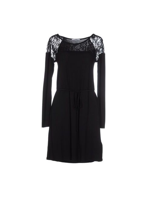 Liu •Jo Jeans | Женское Чёрное Короткое Платье