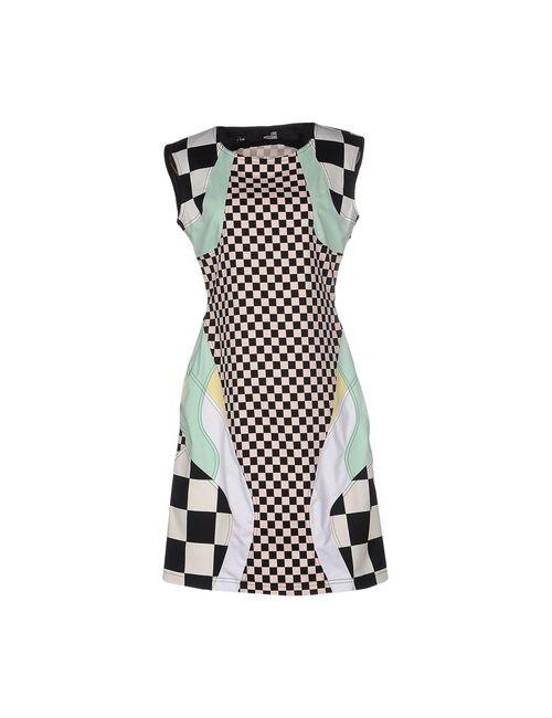 Love Moschino | Женское Чёрное Короткое Платье