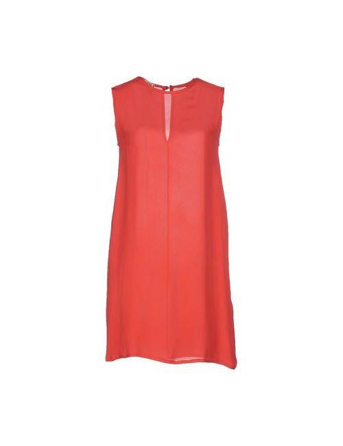 Douuod | Женское Красное Короткое Платье