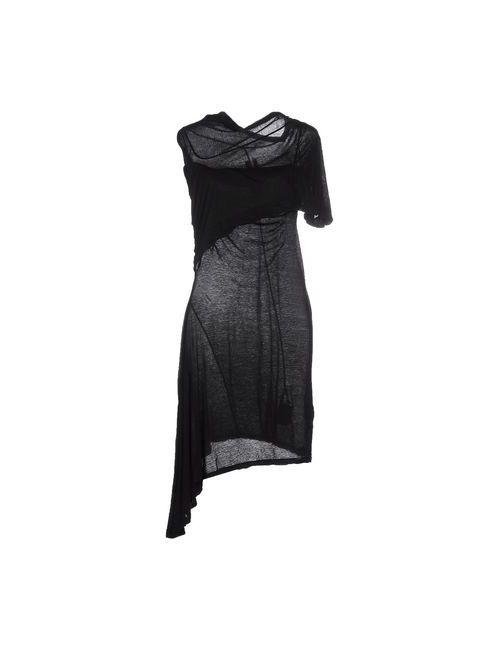 RICK OWENS DRKSHDW | Женское Черный Короткое Платье