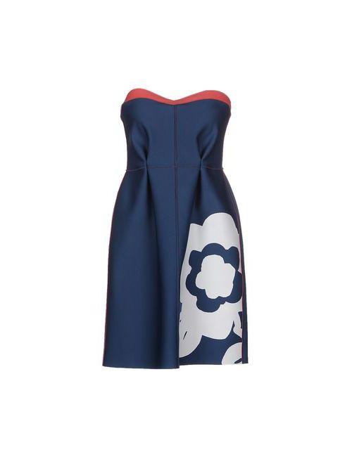 L' Autre Chose | Женское Синее Короткое Платье