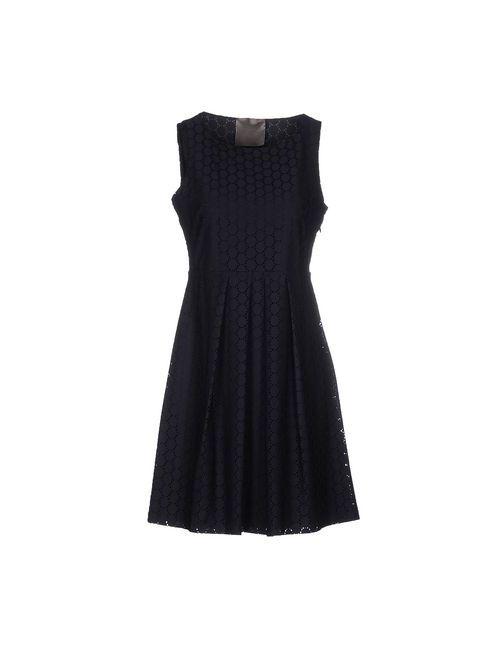 Es'Givien | Женское Синее Короткое Платье