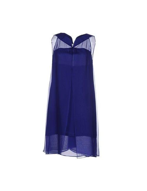 Aspesi | Женское Синее Короткое Платье