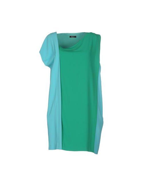 Hanita | Женское Зелёное Короткое Платье