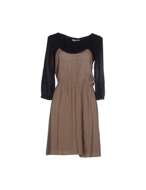 Liu •Jo Jeans | Женское Серое Короткое Платье