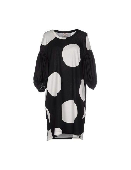Douuod | Женское Черный Короткое Платье