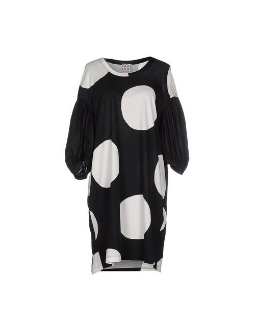 Douuod | Женское Чёрное Короткое Платье