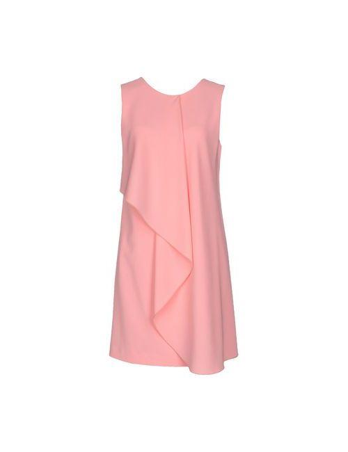 Pinko   Женское Розовое Короткое Платье