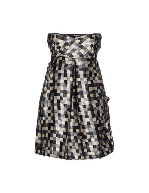 Lavand.   Женское Чёрное Короткое Платье