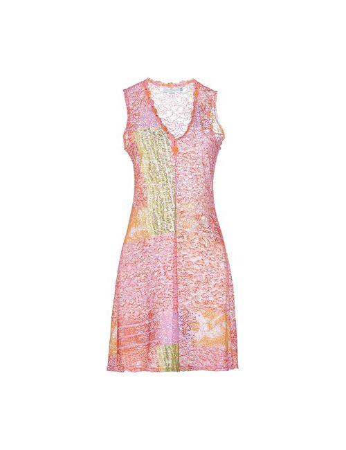 Flavia Padovan | Женское Фиолетовое Короткое Платье