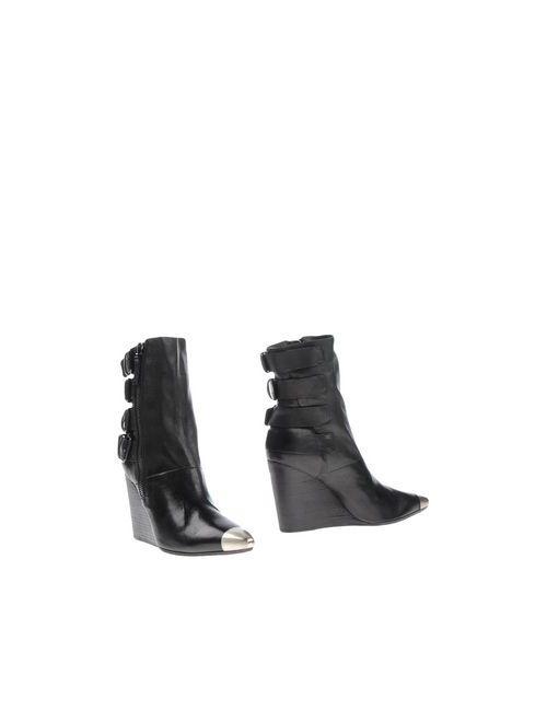 Settima | Женские Чёрные Полусапоги И Высокие Ботинки