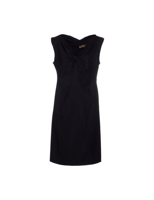 John Galliano   Женское Чёрное Короткое Платье