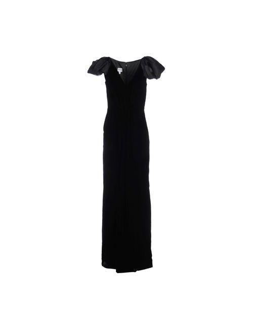 Armani Collezioni   Женское Черный Длинное Платье