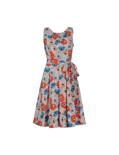 Andrea Incontri | Женское Голубое Платье До Колена