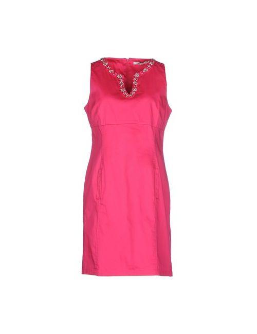 LUCKY LU  MILANO | Женское Фуксия Короткое Платье