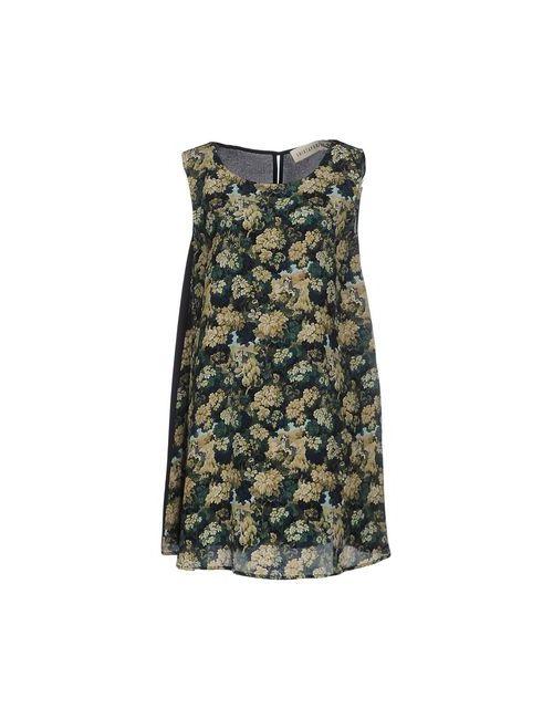 Shirtaporter | Женское Зелёное Короткое Платье