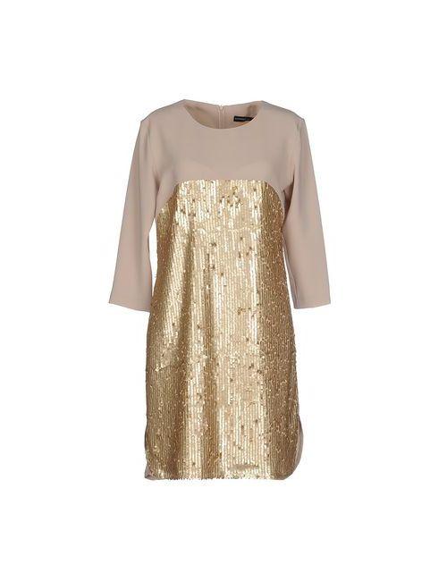 Boutique De La Femme | Женское Хаки Короткое Платье
