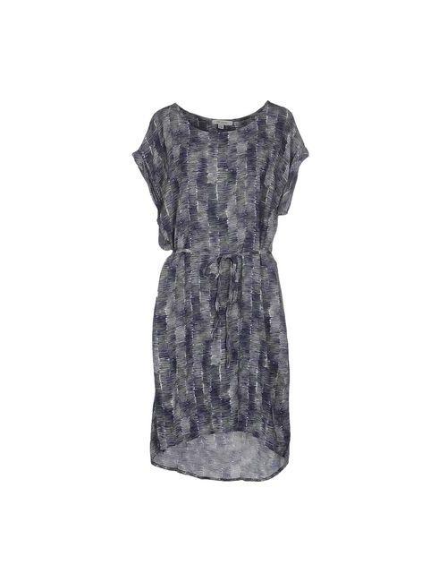 Crossley | Женское Фиолетовое Платье До Колена